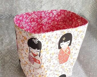 """tidy """"kokeshi"""" floral"""