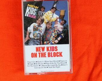 New Kids On The Block Cassette Tape 1986