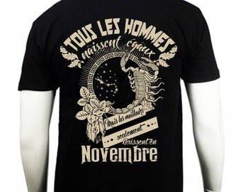 T-shirt the Scorpio zodiac sign