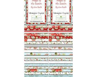 Wilmington Prints - Magic of the Season 40 Karat Crystals 42 pcs  by Lisa Audit Q840-476-840