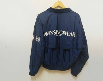 Vintage Munsingwear grand Slam 1886s windbreaker penguin stylish