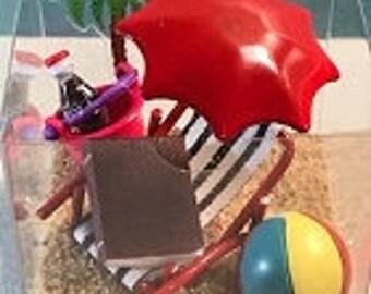 Life's a Beach Miniature Gift Box