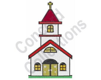 Church - Machine Embroidery Design