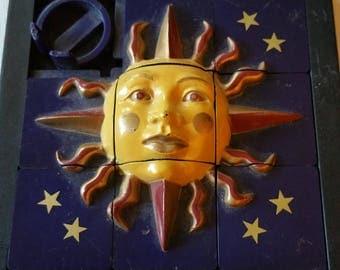 Sun burst puzzle