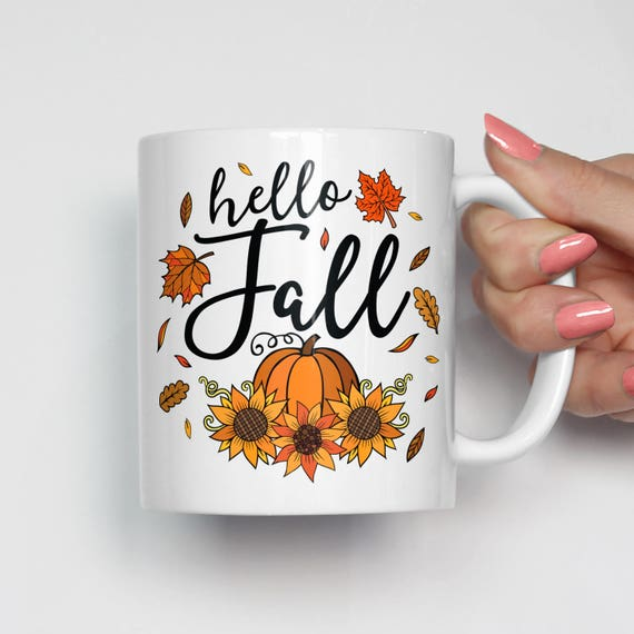 Image result for hello fall mug
