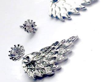 Angel Wings Ear Jackets