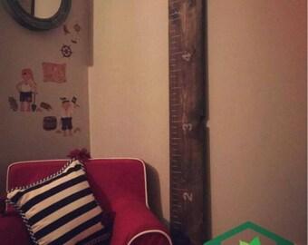 Growth chart ruler Ruler boise gauge growth for kids room decor baby shower idea nice