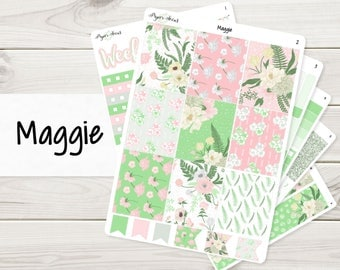 Maggie Weekly Kit | Planner Stickers