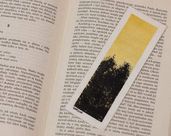 Forest bookmark [ORIGINAL ART]