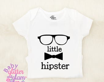 Baby Hipster, Baby Hipster Clothes, Baby Trendy Clothes, Geek Baby, Glasses Mustache Bow tie, Hipster Kid