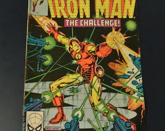 Iron Man #134 The Challenge, 1980 Bronze Age Marvel Comics