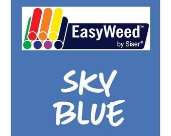Siser EasyWeed Heat Transfer Vinyl - HTV - Sky Blue
