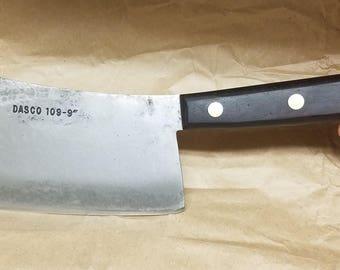 Rare Vintage Dasco 109-9 Meat Cleaver