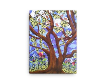 Lively Oaks Canvas