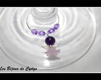 With its purple Angel glass marker