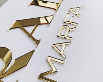 Big Prada Marfa canvas gold 100x70 cm, prada marfa sign, wall modern art, wall decor, interior decor, fashion home decor, mirror gold