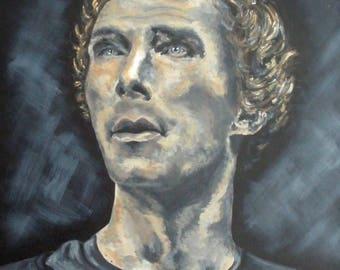 Hamlet Acrylic on Canvas [PRINT]