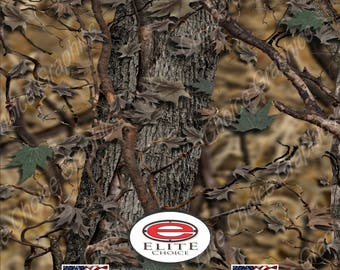 "Hybrid Oak Camo 15""x52"" or 24""x52"" Truck/Pattern Print Tree Real Camouflage Sticker Roll or Sheet"