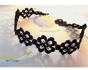 Lace Choker, Black Lace Choker, Choker Necklace, Lace Necklace, Gothic Lace Choker, Victorian Lace Choker, Gift for her