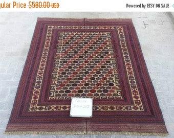 25% OFF SUMMERSALE Gorgeous vintage afghan tribal berjesta kilim rug >>> LOWEST Price