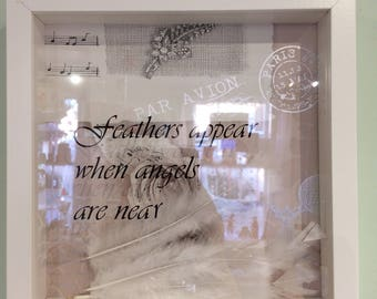 Sentimental personalised memory frame