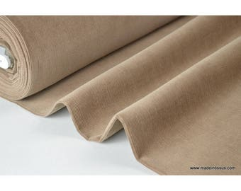 Beige .x1m cotton corduroy fabric