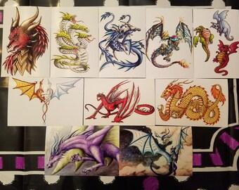 Dragon 4X6 inch Prints Assorted Designs