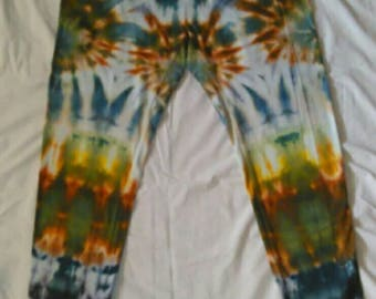 X-Large Ice Dyed Hanes Leggings