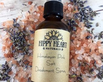 Himalayan Salt Deodorant/ liquid deodorant / Natural deodorant