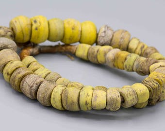 "54 Antique Hebron ""KANO"" African Trade Beads"