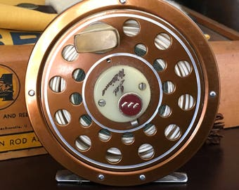 Ted Williams Fly Reel Model # 312.31140 Sears Fishin ng Tackle Vintage EXC!