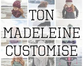YOUR CUSTOMIZED MADELEINE