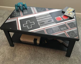 Nintendo NES Controller Custom Retro Video Game Coffee Table V2