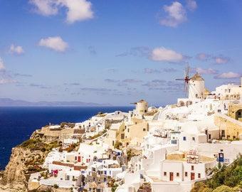 Oia Photography - Oia View - Santorini Photograph - Oia Print - Greece - Fine Art Photography - Wall Art - Home Decor - Beautiful Oia - 0149