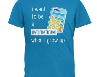 When I Grow Up Mathematician Mens T Shirt