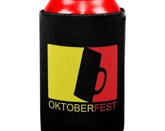 Oktoberfest German All Over Can Cooler