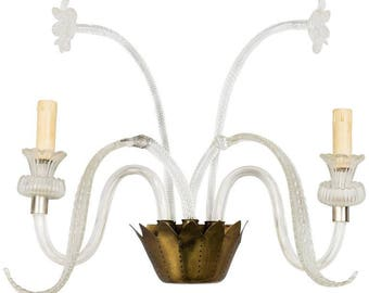 Murano Glass Sconce Wall Light