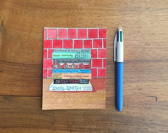 ORIGINAL Feminist Books Illustration ~Free Shipping~