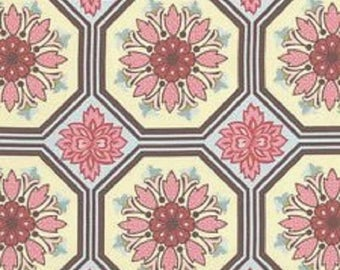 "ON SALE Michael Miller Fabrics   ""Ginger Blossom"" by Sandi Henderson  Fat Quarter"