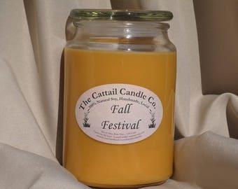 Fall Festival - 100% Soy Candle, 24 fl oz