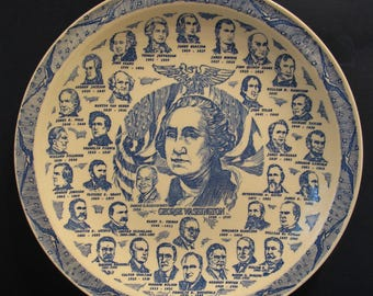 Presidential Gallery Collector Plate