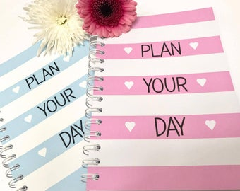 A5 To Do List / Daily Planner, Stationery Notebook - 3 Month Duration