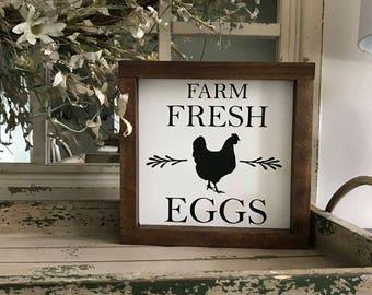 Farm Fresh Eggs Farmhouse