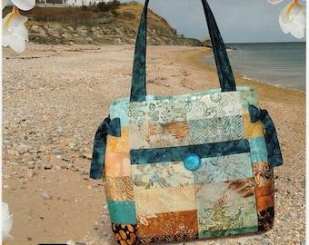 Sale Hampton Handbag Pattern By Pink Sand Beach Designs - Purse Tote Bage Pattern, Nancy Green