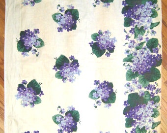 Beautiful 1930's American Floral Cotton Chintz Fabric (9987)