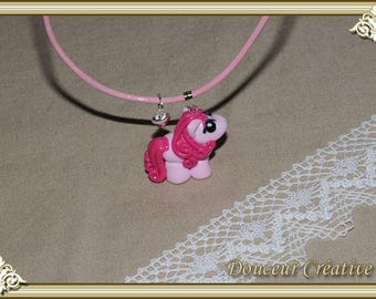 Pink necklace Little Pony child 202010