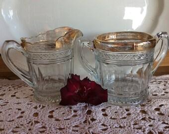 Antique Burlington glassworks Bosworth pattern Canadian Pressed glass EAPG