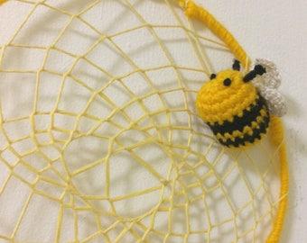 Bee Happy Dreamcatcher