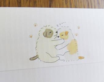 Regular envelope / Pups B