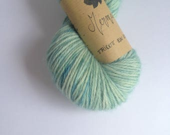 Mermaid - Skein of wool Alpaca hand dyed
